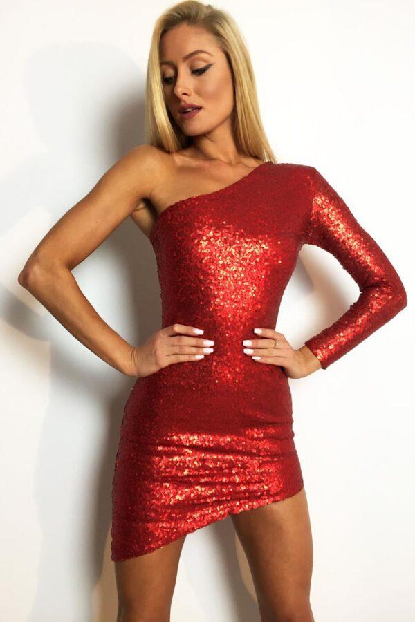 sukienka cekinowa czerwona 1 (Copy)