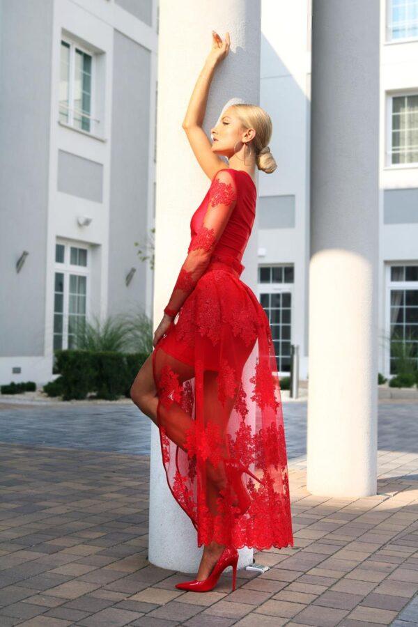 czerwona sukienka na wesele 1 (Copy)