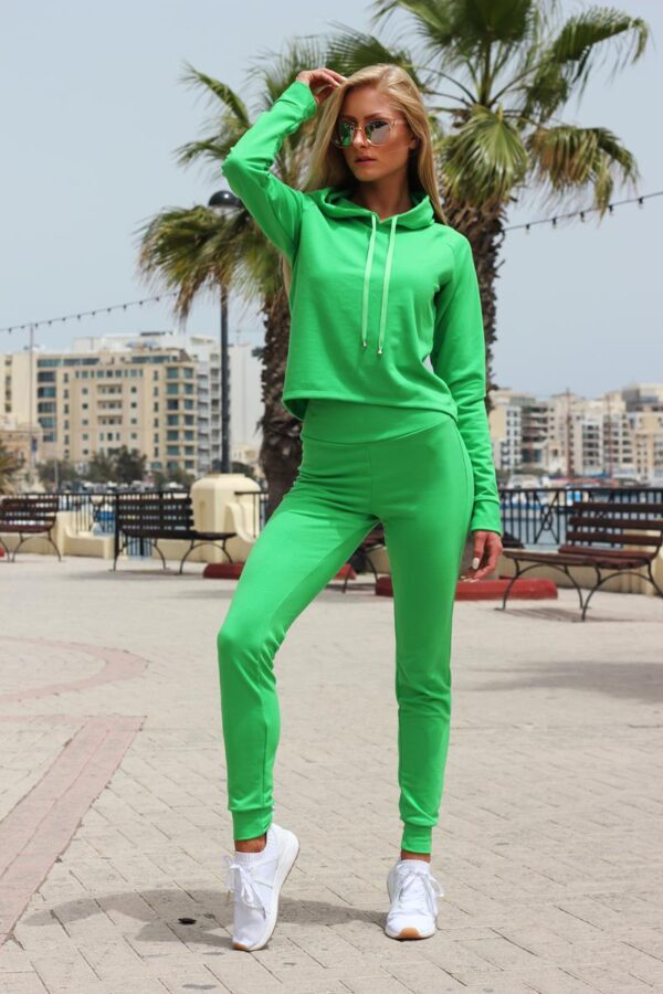 dres zielony bluza z kapturem (Copy)