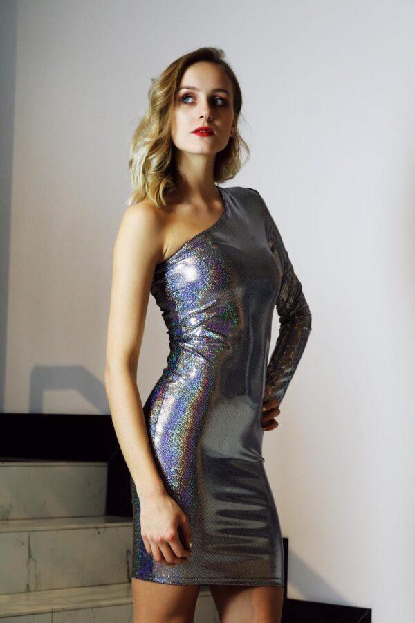mieniąca się sukienka 2