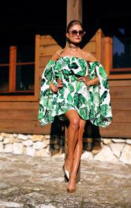 sukienka w liście 1.1