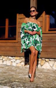 sukienka w liście 1.3