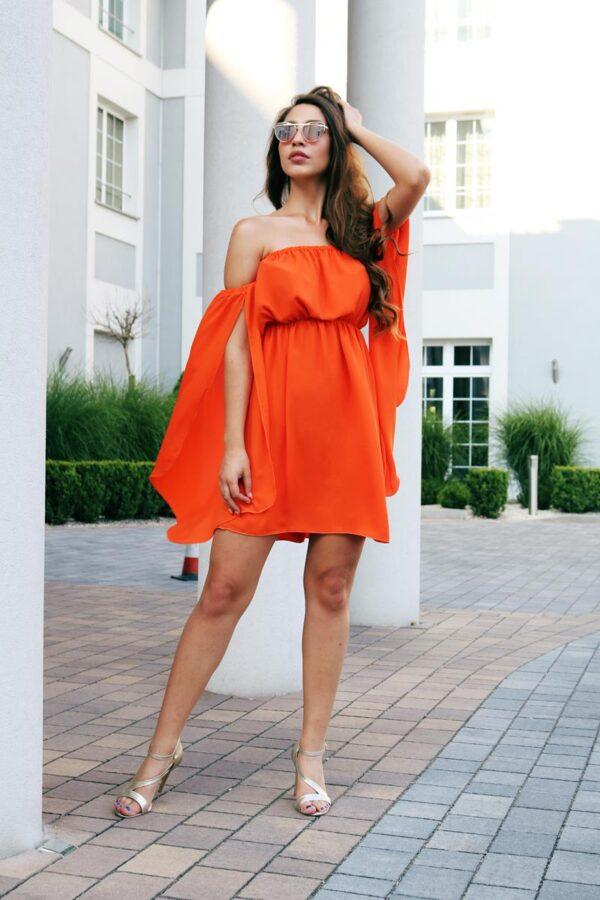 sukienka hiszpanka pomarańcz 1.1 (Copy)