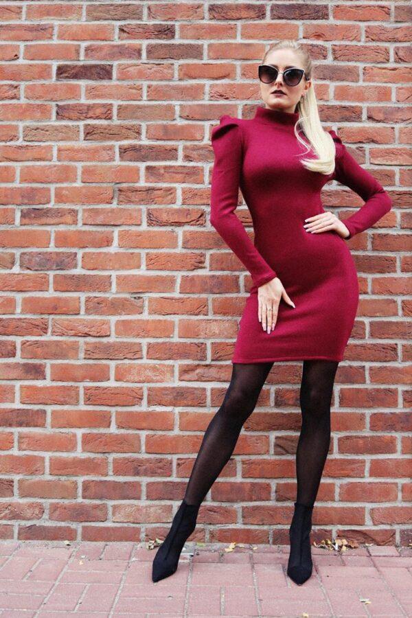 dzianinowa sukienka dopasowana yololook 1.3 (Copy)